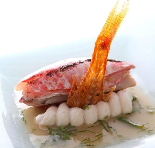 ドゥオモの魚料理