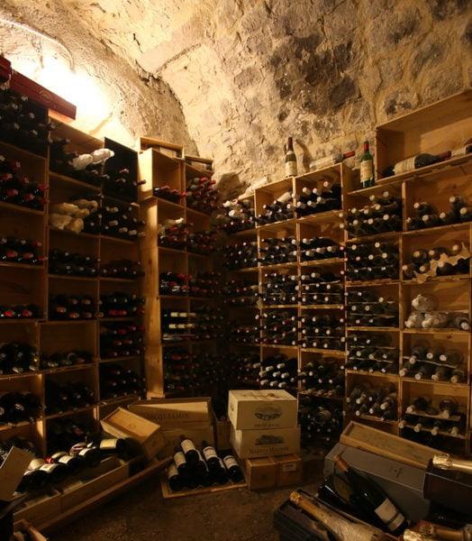 ドゥオモのワインセラー