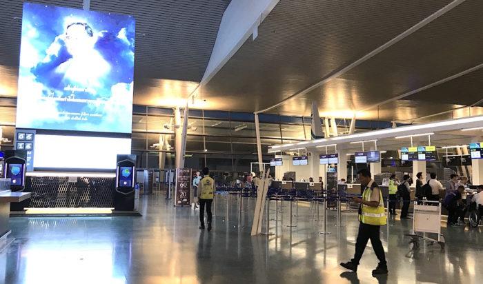 プーケット国際空港内