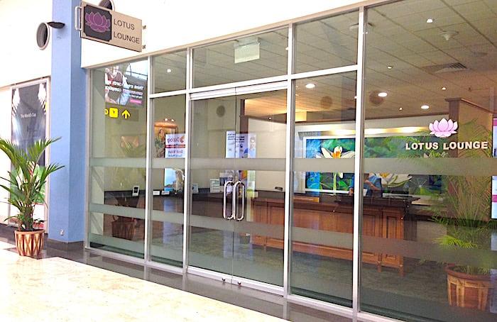 コロンボ空港のロータスラウンジ入り口画像