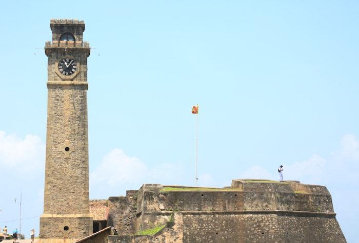 スリランカ・ゴール時計台