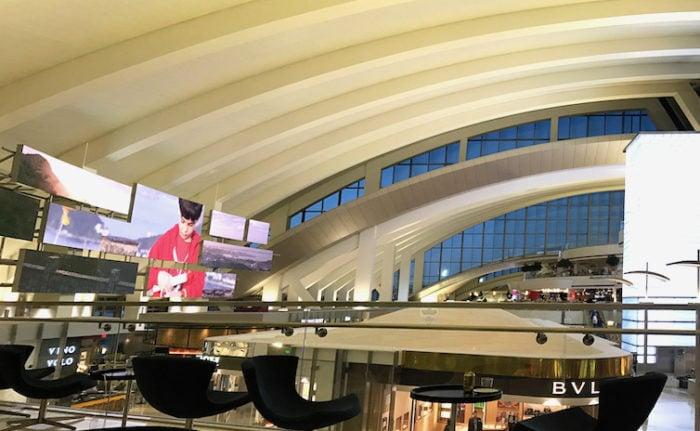ロサンゼルス空港KALのラウンジ