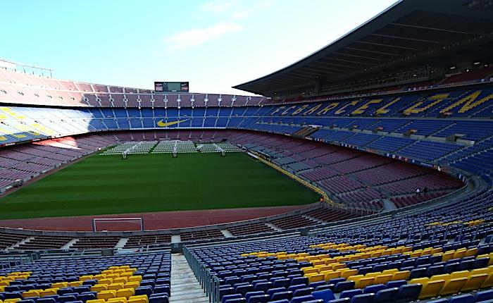 FCバルセロナの本拠地スタジアム