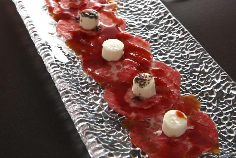 バルセロナのディスフルタールの料理