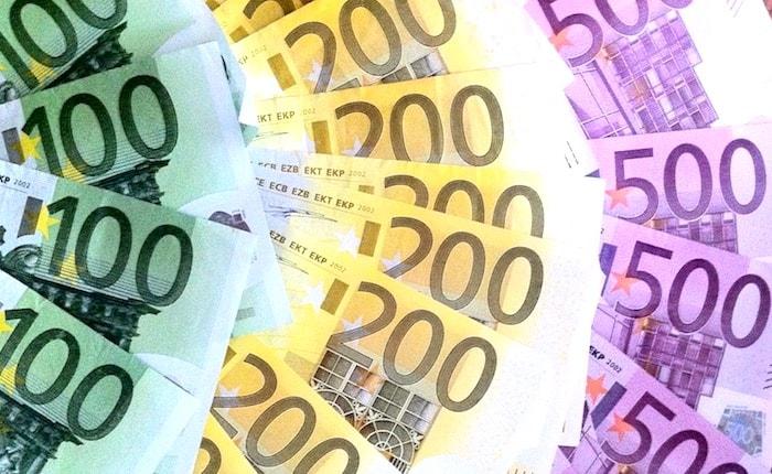 ユーロ紙幣画像