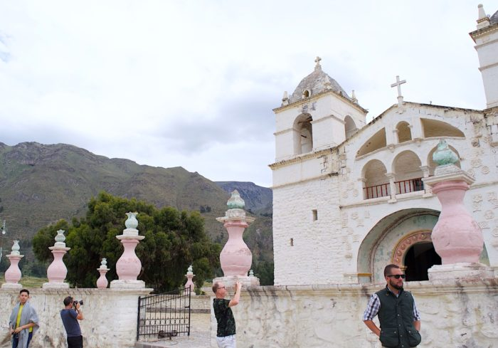 ペルーのマカ村