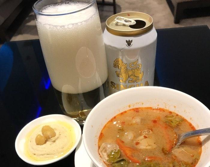 ビールとトムヤムクン
