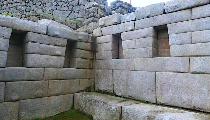 マチュピチュの遺跡内の画像
