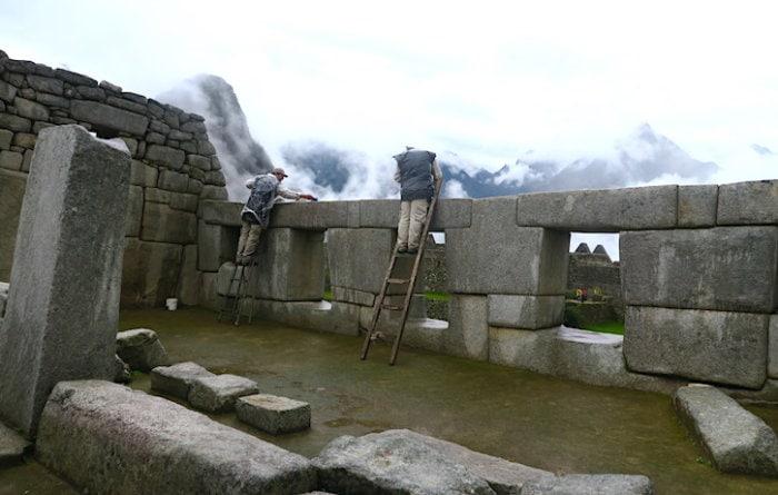 マチュピチュ遺跡、3つの窓の神殿