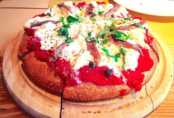 ABCモンテッキアのピザの画像