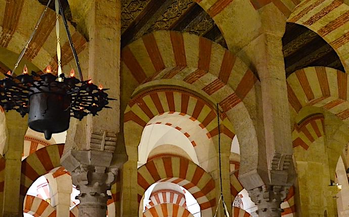 メスキータの柱頭画像