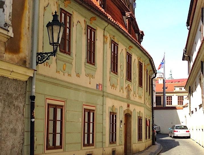 プラハの街並みの画像