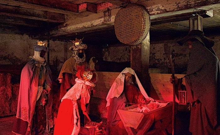 キリスト生誕劇画像
