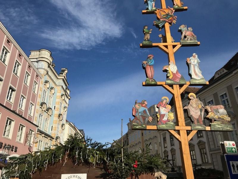 シュタイヤーのクリスマス市画像