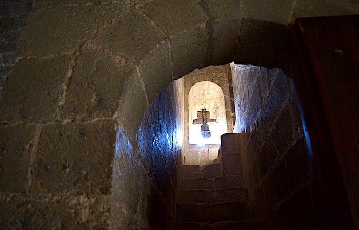ロアーレ城内の鐘の画像