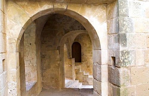 城内の通路の画像