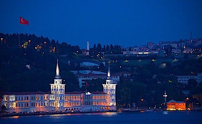 イスタンブールの夜景画像