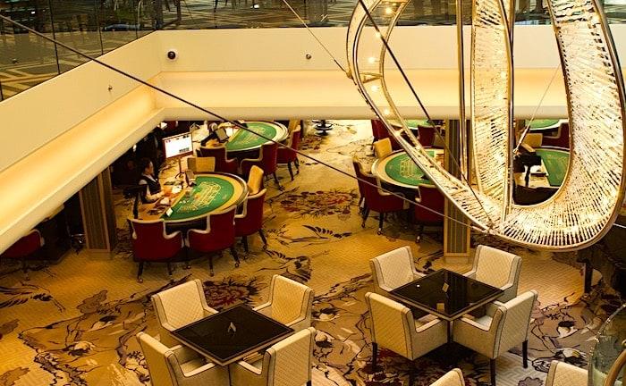 「パレス」専用のカジノスペースの画像