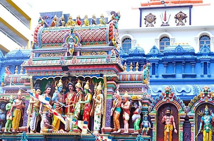 スリ・クリシュナん寺院の外観画像