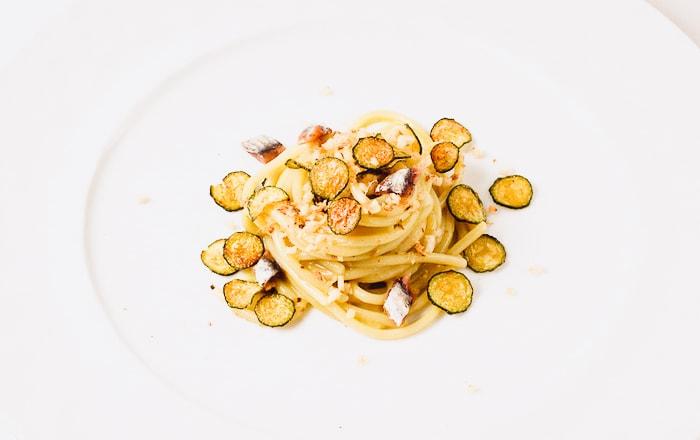 サラチーノのズッキーニのパスタ画像