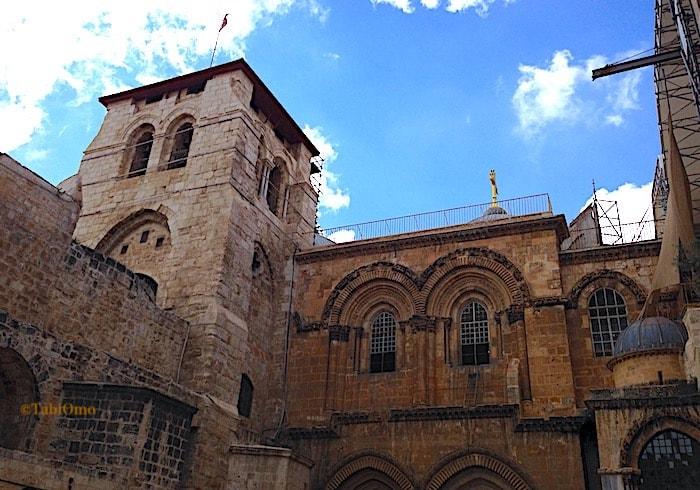 聖墳墓教会のエントランス画像